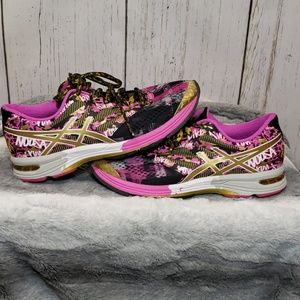 Asics gel noosa tri 10 gold ribbon running shoes